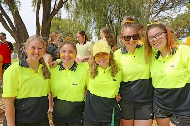 Alice Pratt, Chloe Mccallum, Anna Ballantyne, Sally Sapiatzer And Madi Bowering  TBW Newsgroup