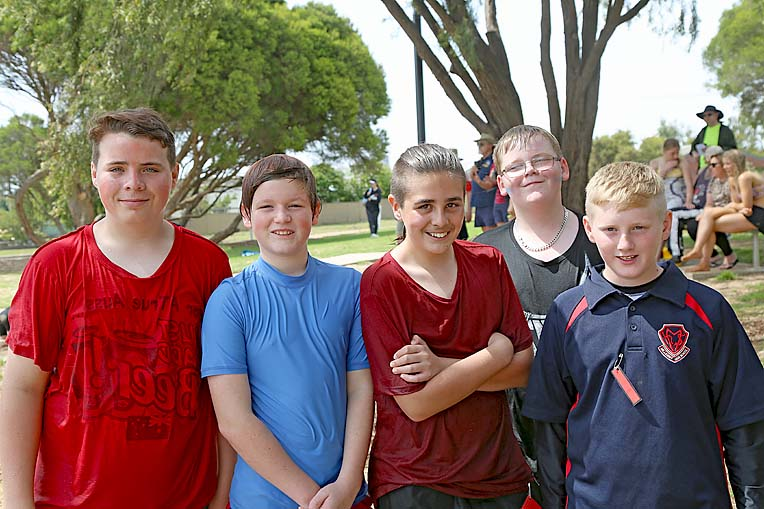 Braden Manhood, Ashleigh Foulds, Jonathon Bennier, Jacob Tully And Dylan Milton  TBW Newsgroup