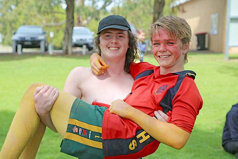 Lachlan Alcock And Trey Little  TBW Newsgroup
