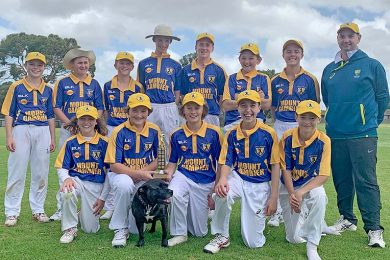Under 14 Winners Mount Gambier  TBW Newsgroup
