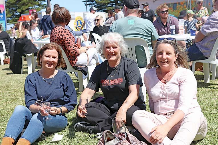 Maureen Whitehead, Fiona Jones And Peta Cassar  TBW Newsgroup