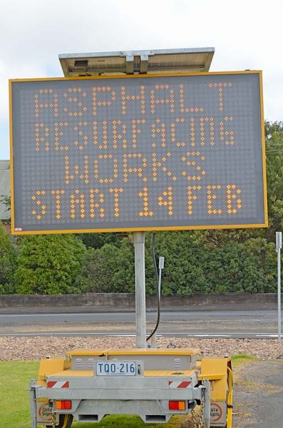 Road Sign TBW Newsgroup