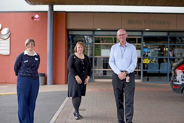 Dr Pretorius, Pam Schubert And Paul Bullen TBW Newsgroup