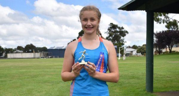 Jocelyn Work Grant High Under 15 Champion TBW Newsgroup