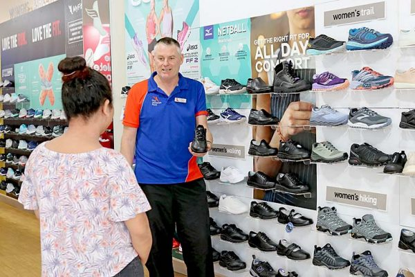 Athletes Foot Donation To Vulrenable TBW Newsgroup