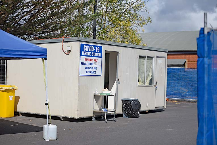 Covid Test Station  TBW Newsgroup