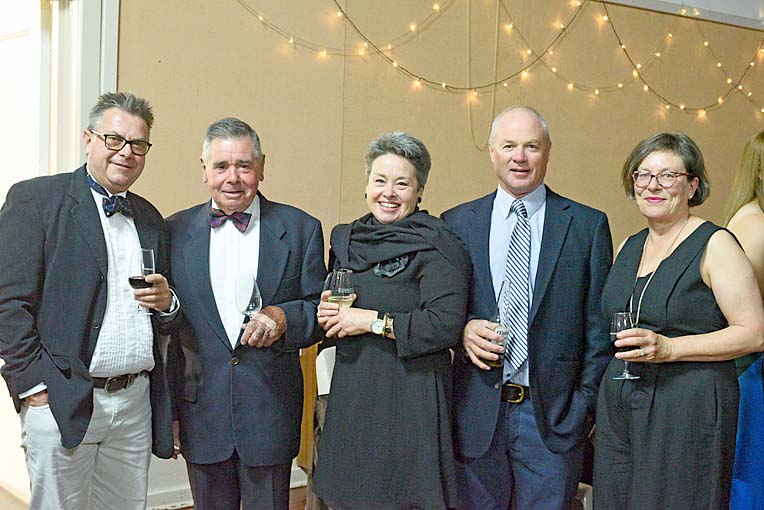Peter Bissell, Doug Balnaves, Kirsty Balnaves, Will Polard And Louise Dickens  TBW Newsgroup