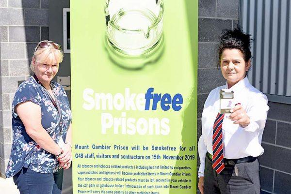 Prison Smoke Free TBW Newsgroup