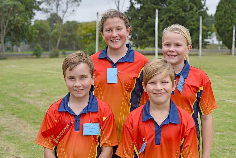 Tayte, Kaylee, Deklan And Skye  TBW Newsgroup