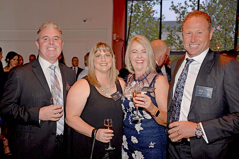 David And Kathy Hayes With Julie And Phil Giles  TBW Newsgroup