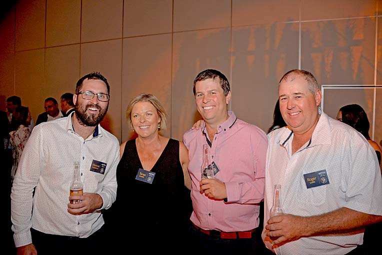 Marcus Devereux, Tanya And Justin Robbie, Roger Gibbs  TBW Newsgroup