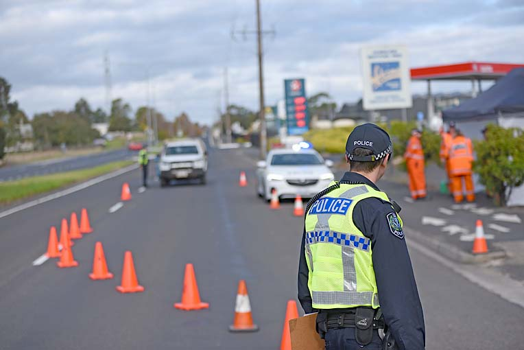 Police Roadblock  TBW Newsgroup