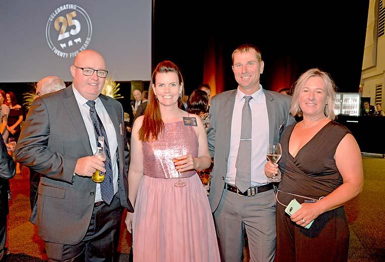 Scott Davidson, Regan Ad Scott Bittner And Emily Davidson  TBW Newsgroup
