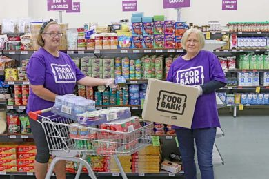 Jennie Mannion And Julie Tuohey Foodbank  TBW Newsgroup