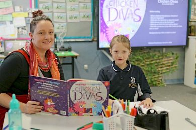 Meagan And Mackenzie North Primary School  TBW Newsgroup