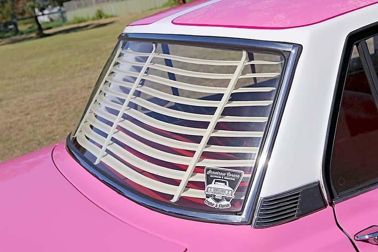 Pink Toyota Corona Dave Rawnsley (21)  TBW Newsgroup