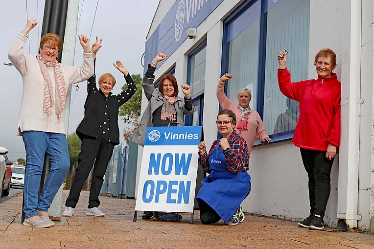Vinnies Reopening Better  TBW Newsgroup