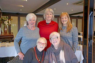 Pauline Pritchard, Virginia Hill, Sonia Mezinec, Maree Lynch And Jenni Giles  TBW Newsgroup
