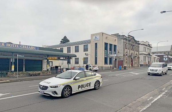 Police Main Corner TBW Newsgroup