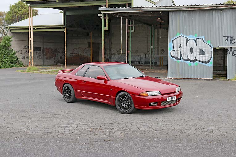 Dylan Smaling Nissan Skyline (2)  TBW Newsgroup