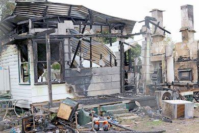 Nangwarry House Fire (2)  TBW Newsgroup