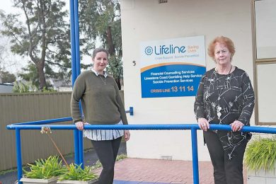 Sonia And Brownyn Lifeline  TBW Newsgroup