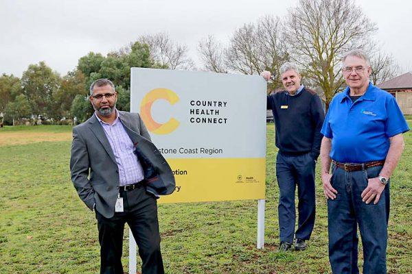 Yasir, Tony And Richard Country Health Sign TBW Newsgroup