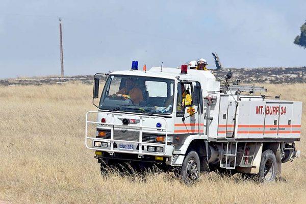 Mount Burr Fire Truck TBW Newsgroup