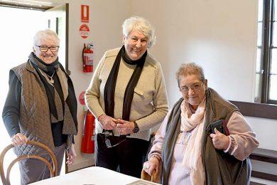 Marg Muller, Mary Leech And Carol Cox  TBW Newsgroup